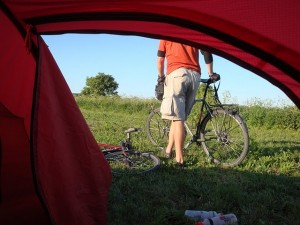 cycle camping denmark