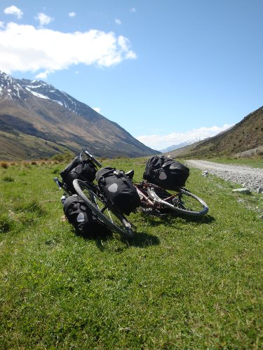 cycle touring in New Zealand, public transport and busses