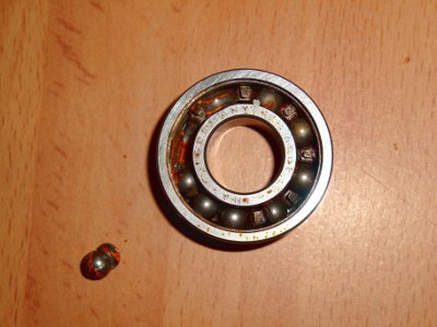new ball bearings in HOPE hub