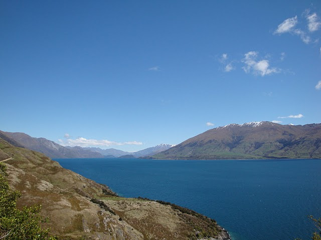Cycling from makarora to queenstown along lake tekapo and Lake tekapo motor camp